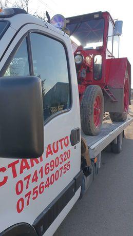 Platforma Tractari auto/Transport utilaje non stop Braila/Galati