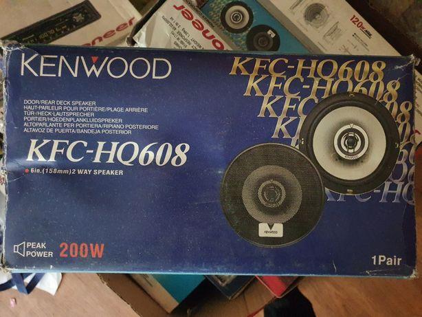 Продам новые динамики Kenwood (16 см)
