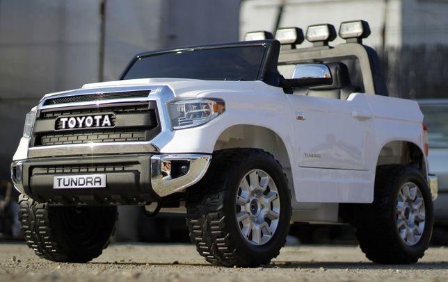Masinuta electrica pentru 2 copii Toyota Tundra 2x45W 12V #Alb