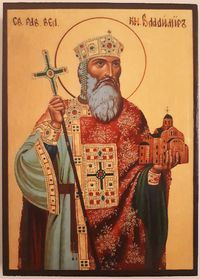 Икона на Свети княз Владимир ikona sveti kniaz vladimir