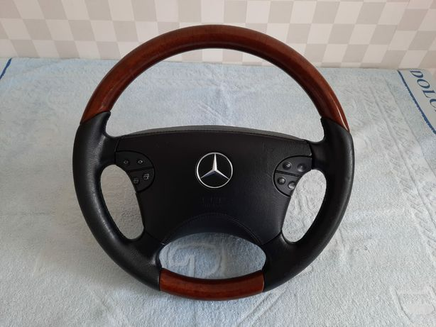 Продам руль Mercedes-benz w210-w208-G500 руль кожа-дерево