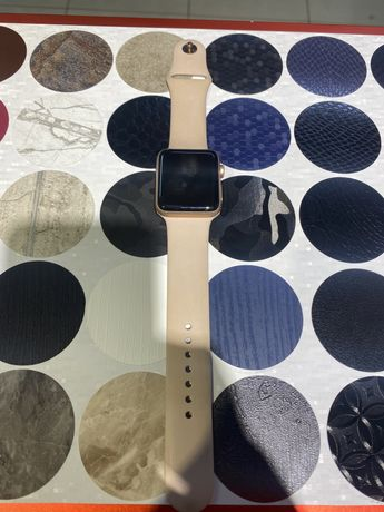 Apple watch 3 серия 42мм золото!!!