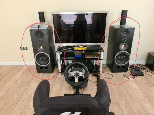 Тонколони стерео пайнер pioneer speakers