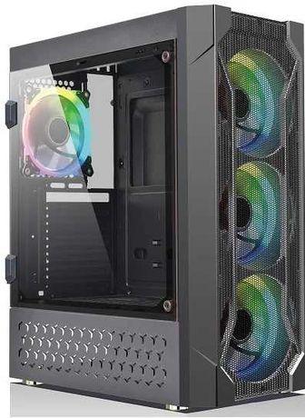 Wintek Rainbow K106 закалённое стекло MidiTower/ATX/Micro-Mini-ITX