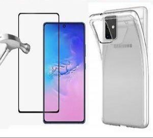 Pachet folie si husa Samsung Galaxy S20 FE, A32, A51, A52, A71, A72