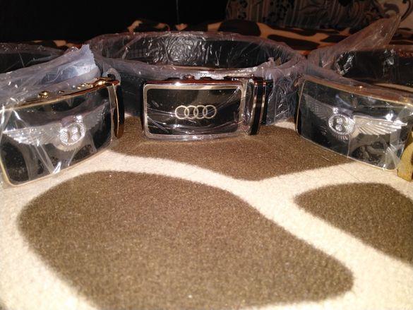 Кожен официален колан Bentley и Audi