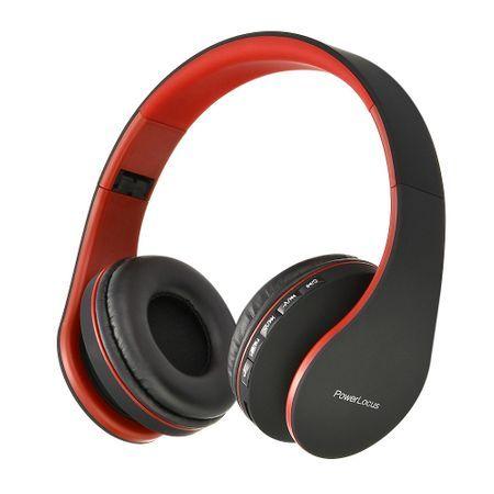 Разопаковани Сгъваеми Стерео Bluetooth Слушалки PowerLocus P1 Over-Ear
