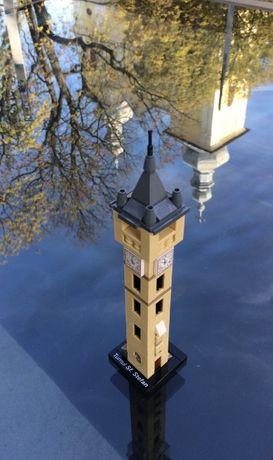 LEGO stil Architecture creatie proprie - Turnul Sf. Stefan Baia Mare