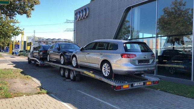 Transport auto pe platforma din Germania , Belgia , Olanda
