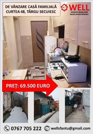 De vânzare casă familială, Târgu Secuiesc