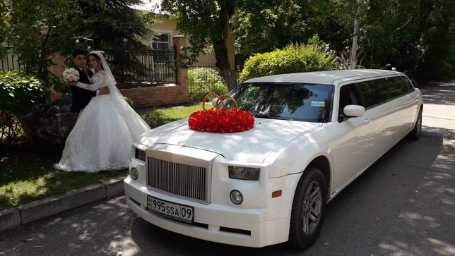 Лимузин крайслер,аренда авто,свадьба,той,роддом,кызату,