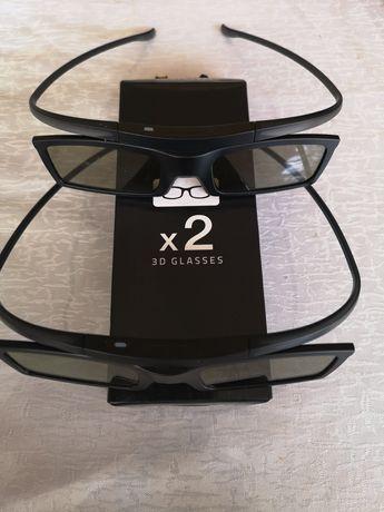 Очки 3D новые цена за 2шт