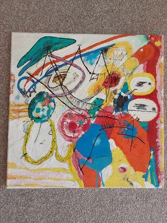Уникална абстрактна картина репродукция на Кандински