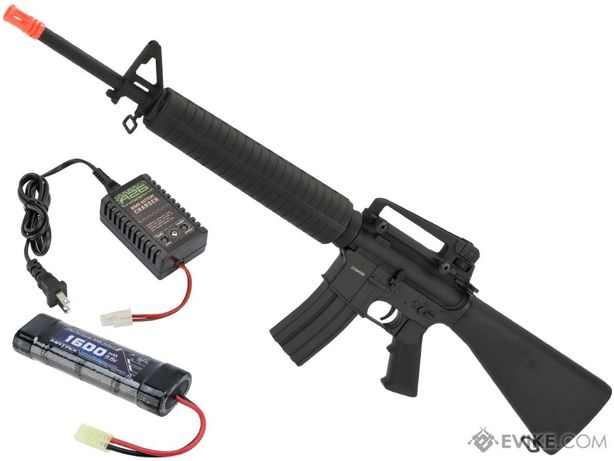 MODEL NOU! Pusca Colt M4 + KIT UPGRADE!! electrica airsoft + Munitie