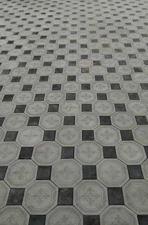 Брусчатка Алея, Ромб 3D, Звезда востока. Тротуарная плитка.