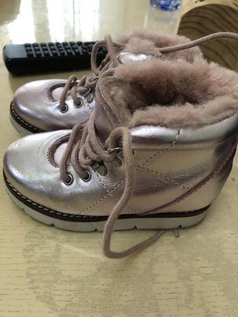 Детские ботинки(зимние)