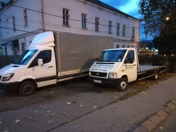 Transport marfa & Tractări auto