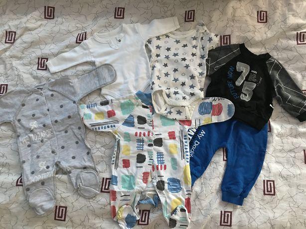 Детская одежда 0-5 м.