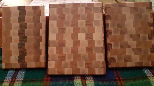 Дъски за рязане end grain
