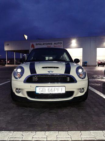Mini cooper S 174 CP alb-negru