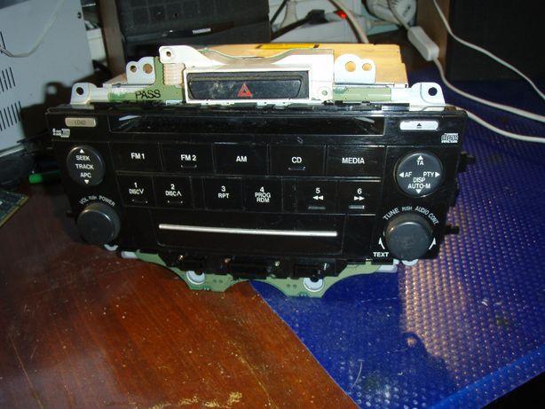 Radio CD 6 discuri audio CQ-EM4570AK, pentru Mazda 6
