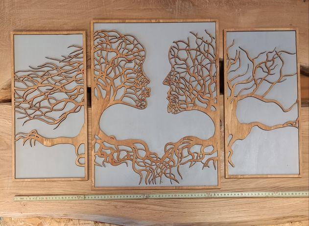 Tablou decorativ din lemn