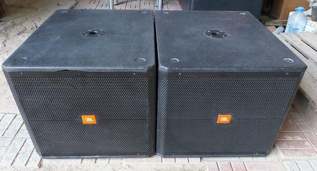 Пассивные сабвуферы JBL SRX-718S по 800ватт