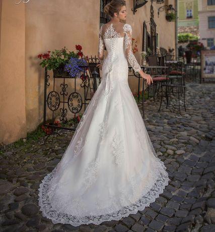 Свадебное платье русалка рыбка