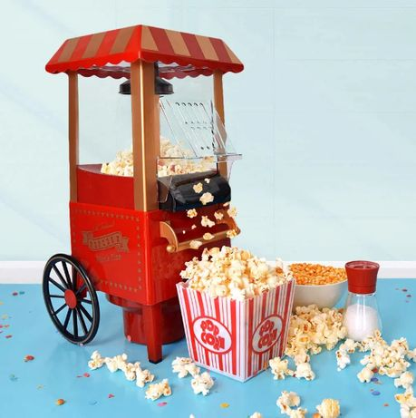 Masina de facut popcorn floricele Vintage