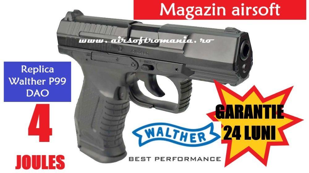 Pistol WALTHER 4 Joules Varianta Upgradata GARANTIE 24 LUNI