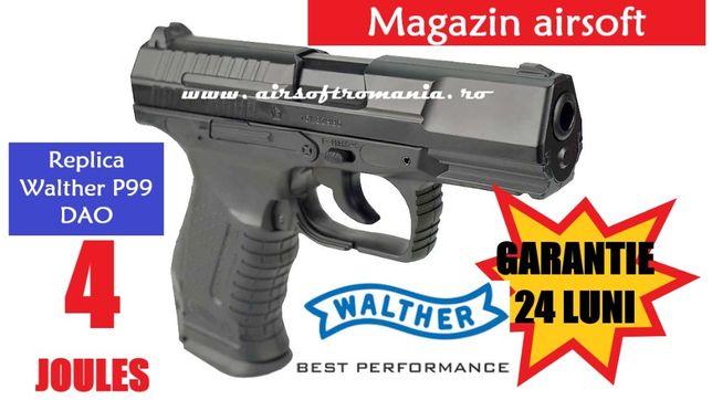 Pistol WALTHER 4joules+0,30gr-1000bile+5CO2+1capsula mentenanta