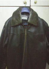 Мъжко яке от естествена кожа /шуба/