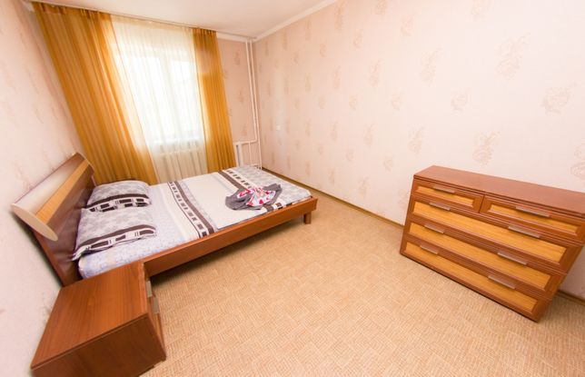 2 Ком. Квартира Посуточно от Vita Haus. Р-н: Колхозного Рынка.КТВ WiFi