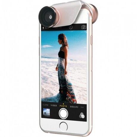 Obiectiv,kit lentile iPhone 6 & 6s,6 Plus, roz gold