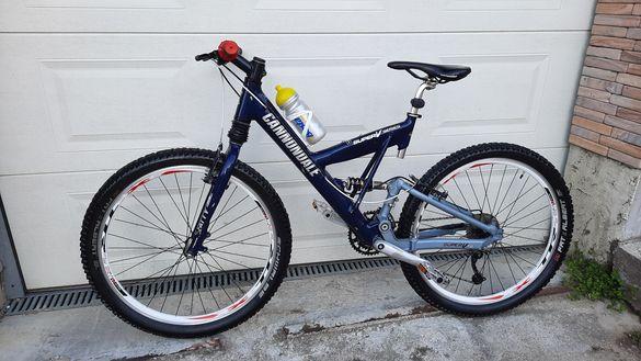 Планински велосипед Cannondale super V series/26 цола