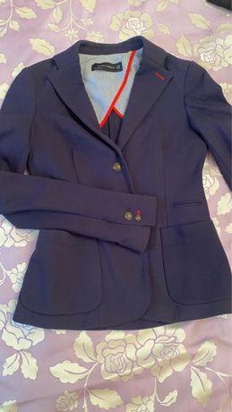 Пиджак трикотажный Massimo Dutti