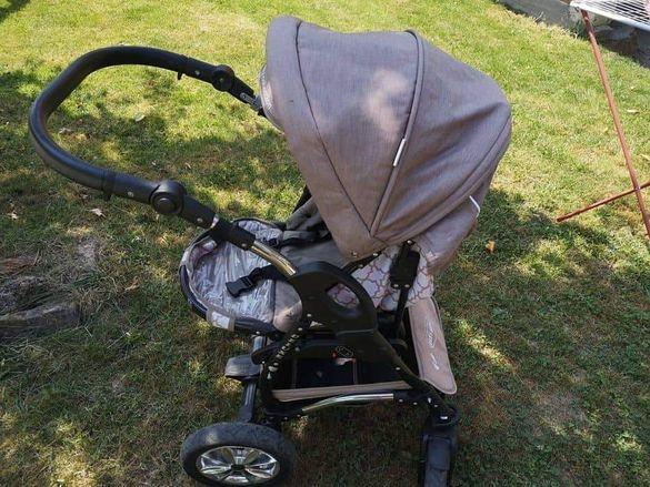 Комбинирана бебешка количка BABY-MERC :) + подарък столче