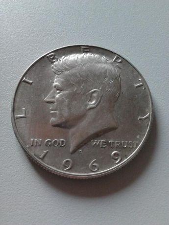 Monedă comemorativă John F. Kennedy Half Dollar