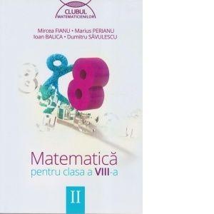 Culegere Matematica - Cls a VIII-a - Sem II