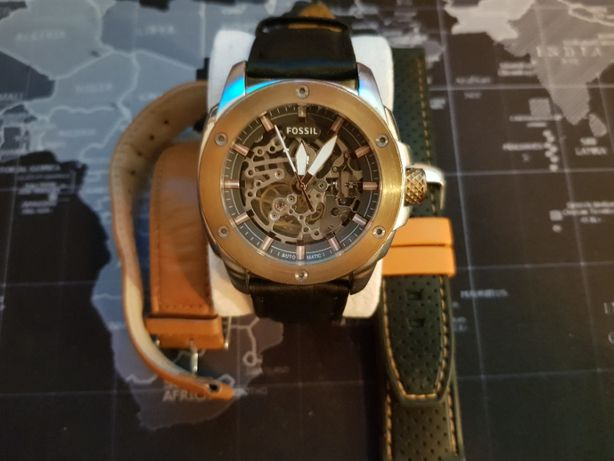 Ceas mecanism automatic Fossil Modern Machine ME3082