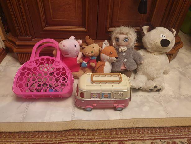 Автобус кукла сумка