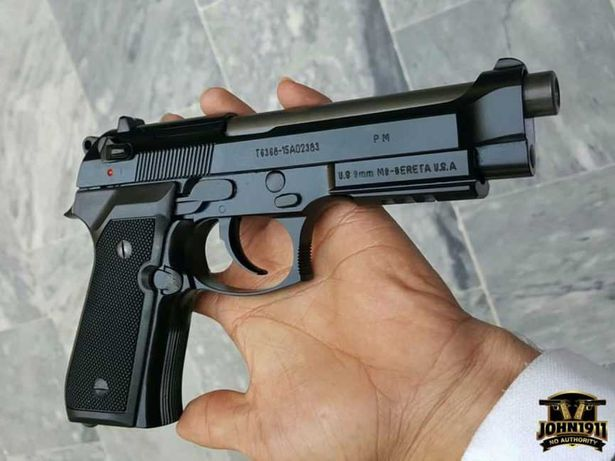 Pistol Airsoft #Beretta-Taurus# Aer Comprimat 4,3j 6mm