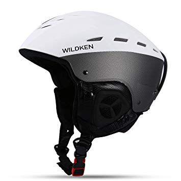 Casca ski/Adult Ski Helmet Huntvp with Fleece Liner for Ski/Snowboard
