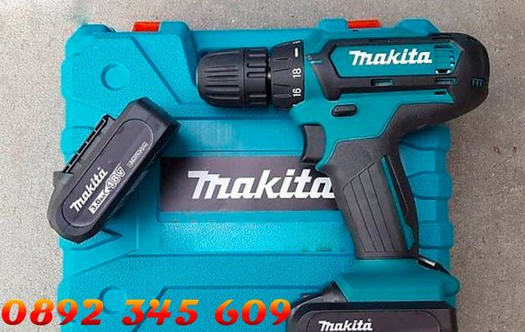 НОВ!+прнинадлежности Винтоверт MAKITA-24 V3.00 AH LI-ION, 42NM, 13MM