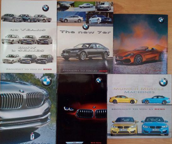 Книги списания брошури каталози автомобили BMW 3 5 7 Pininfarina