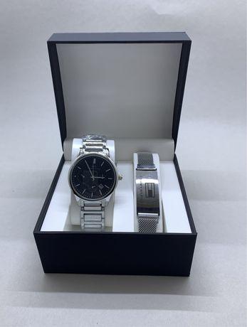 Часы и браслет мужской набор