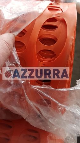 PLASA portocalie AVERTIZARE lucrari inaltime 1,8 m