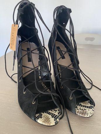 Pantofi Zara din piele