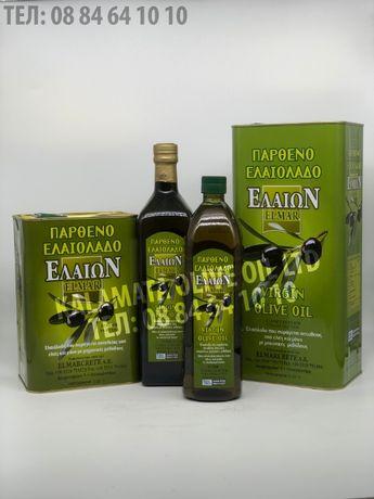 Гръцки зехтин Елмар/Elmar - Върджин, Екстра върджин, Помаче и маслин