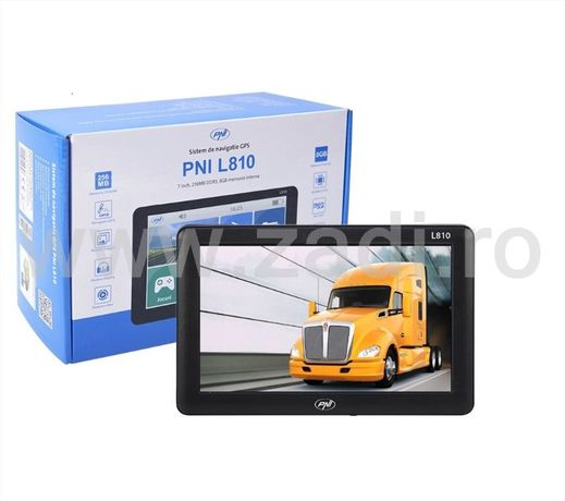 Gps camion, pni l810 - 4 programe instalate -full europa-auto, camion